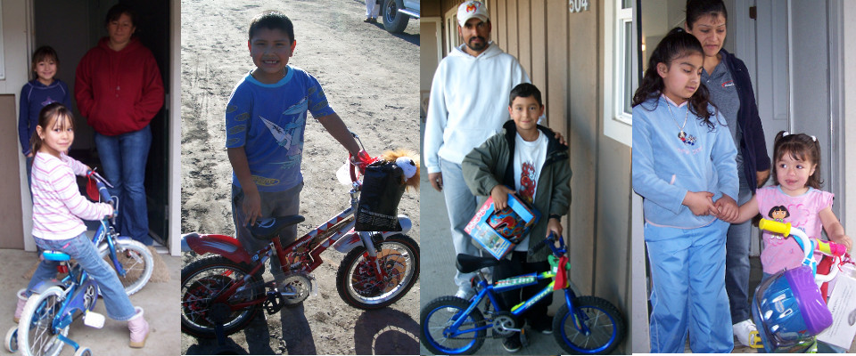 <b> Every kid wants a bike, and we make those wishes come true</b>